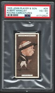 1925-John-Player-amp-Sons-Albert-Whalley-39-Racing-Caricatures-Jockey-Card-PSA-4