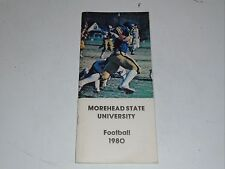 1980 MOREHEAD STATE (KY) COLLEGE FOOTBALL MEDIA GUIDE  EX BOX 31