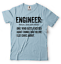 miniature 8 - Engineer T-shirt Funny Engineering T-shirt.Gift For Engineer Shirt Funny Tshirt