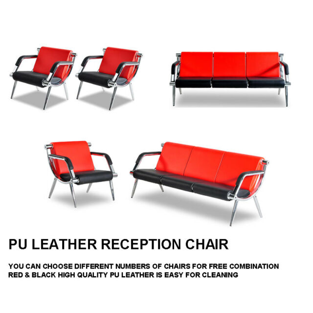Wondrous Waiting Room Chair Office Reception Pu Leather Airport Guest Sofa Seat Modern Pdpeps Interior Chair Design Pdpepsorg