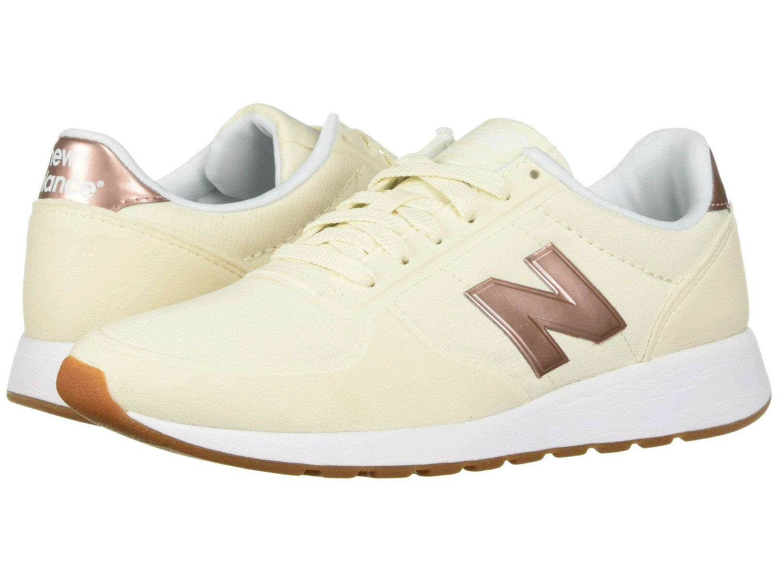Women New Balance WS215AG Sneaker shoes Medium (B) Angora White 100%Original New