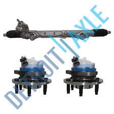 Power Steering Rack and Pinion SRX 2004- 2009 + 2 Wheel Hub Bearing AWD ABS