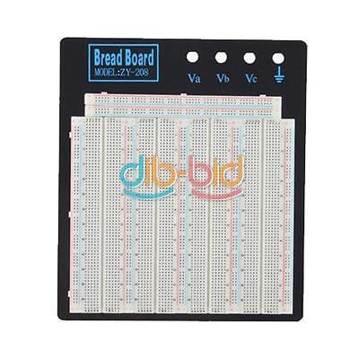 No Welding Solderless Breadboard Plate 3220 Tie-points Circuit Board ZY-208 OCAU
