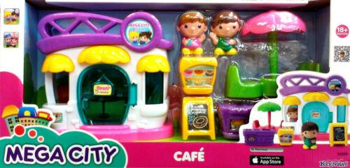 32809 Girls//Boy Toy 18+ Months Cafe Mega City Keenway