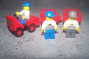 Lot Lego - [ Chariots + Personnels D'aeroport ] - Voir Annonce