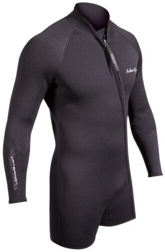 NeoSport Waterman 7mm Step-in Jacket Scuba Diving Wetsuit Men/'s Black All Sizes