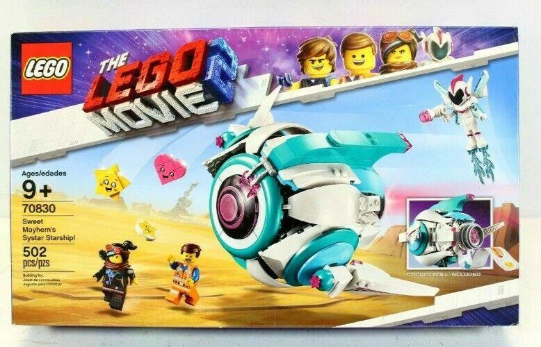 The Lego Movie 2 Sweet Mayhem S Systar Starship 70830 Building Kit 502 Pieces Lego