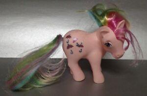 Vintage Hasbro 1983 G1 My Little Pony Parasol Rainbow Hong Kong Rare