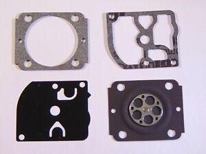 C/·T/·S Kit Guarnizione e diaframma carburatore sostituisce ZAMA GND-91 per carburatore ZAMA C1Q-S110 Stihl FS90 4 cicli Trimmer Confezione da 2
