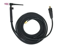 Wp Series Air Cooled Tig Torch With Valve 2 Piece Cable With Dinse Connector