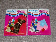 1980s Grand Toys Canadian Lot of 2 MOC Boutique Petite Fashion Sets for Barbie