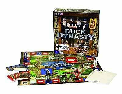 DUCK DYNASTY Redneck Wisdom FAMILY  GAME Willie PHIL Jase UNCLE SI Commander NEW