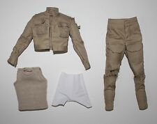 DX07 LUKE SKYWALKER Jacket Pants - 1/6 Hot Toys Star Wars BESPIN Battle Damaged