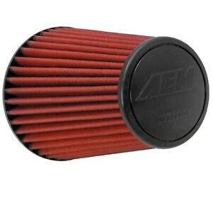 AEM-21-2099DK-DryFlow-Universal-Air-Filter-7-5-034-Base-OD-5-063-034-Top-OD-9-125-034-H