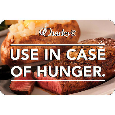$25 / $50 O'Charley's Gift Card - Mail Delivery