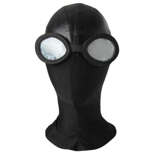 Spider-Man Into the Spider-Verse Spider-Man Noir Black Cosplay Mask Halloween