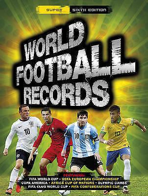 """AS NEW"" World Football Records 2015 (World Records), Keir Radnedge, Book"