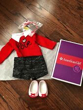 American Girl Grace's City Outfit GOTY 2015 Shorts Sweater Headband Shoes Le