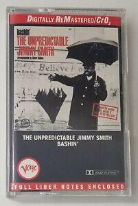 The Unpredictable Jimmy Smith Bashin Cassette Tape 1990 Verve Records