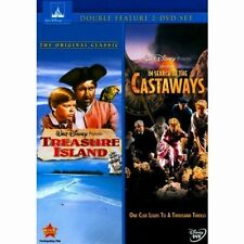 Treasure Island and In Search Of the Castaways Double Feature 2 Movie DVD Set