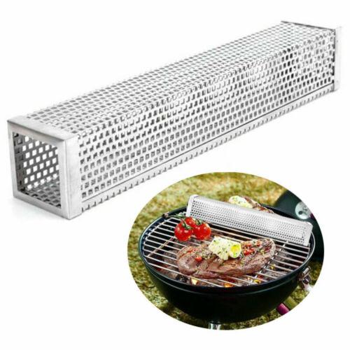 6//12 inch BBQ Smoker Tube Generator Wood Pellet Grill Cold Smoke Steel Mesh
