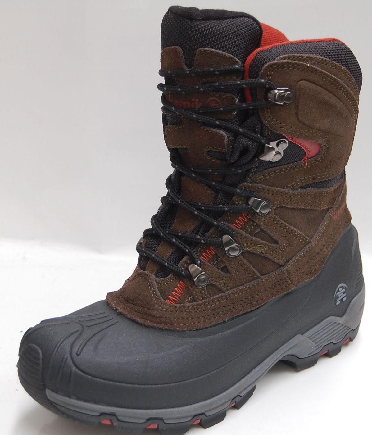 KAMIK Nordicpass olive Canadian Boots -50°C waterproof Gr. 12 / 46 / 28cm