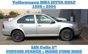 Volkswagen-MK4-Golf-Jetta-2-034-Lift-Coils-Custom-Coils-Lift-Kit-2-034
