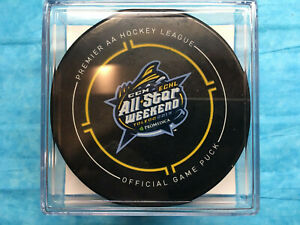 JALEN-SMERECK-2019-ECLH-All-Star-Game-Used-GOAL-Puck-ARIZONA-COYOTES-Prospect