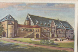 Schloss-Kaiserhaus-Burg-Castle-Chateau-Germany-IMAGE-CARD-30s