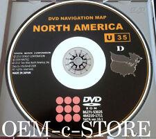 Authentic Toyota & Scion Navigation DVD U35 Ver. 10.1 Map © 9/2010 Edition 2011