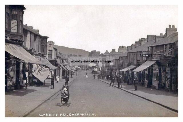 rp14100 - Cardiff Road , Caerphilly , Glamorgan , Wales - photo 6x4