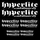 Hyperlite wakeboard sticker decal watersports boat wakeskate wakesurf SET1
