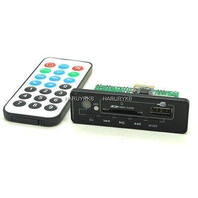 5V mp3 decoder Bluetooth amplifier board 2*3w  AUX,FM, USB, SD+Remote controL