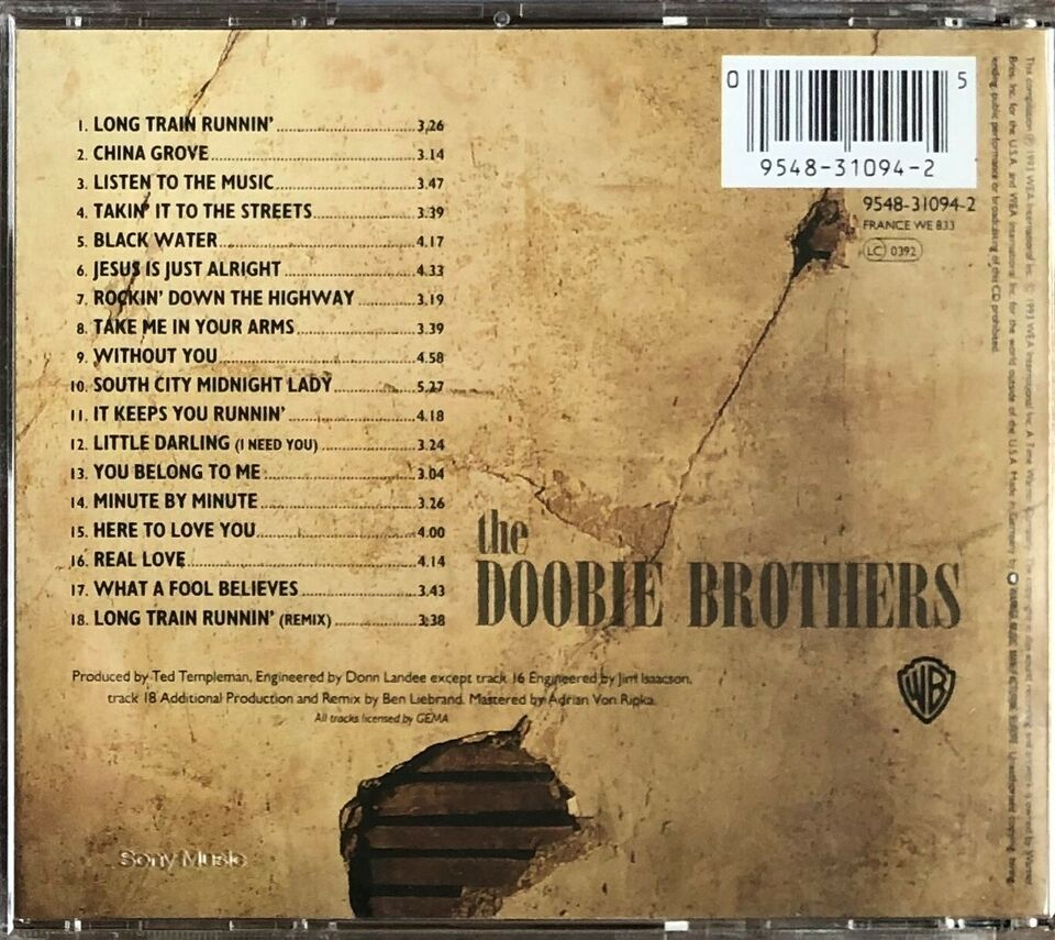 The Doobie Brothers: Listen to the Music – The Very Best of