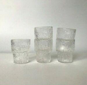5pcs Vtg Iittala Shot Cordial Glasses Paadar Tapio Wirkkala Finnish Design Ebay