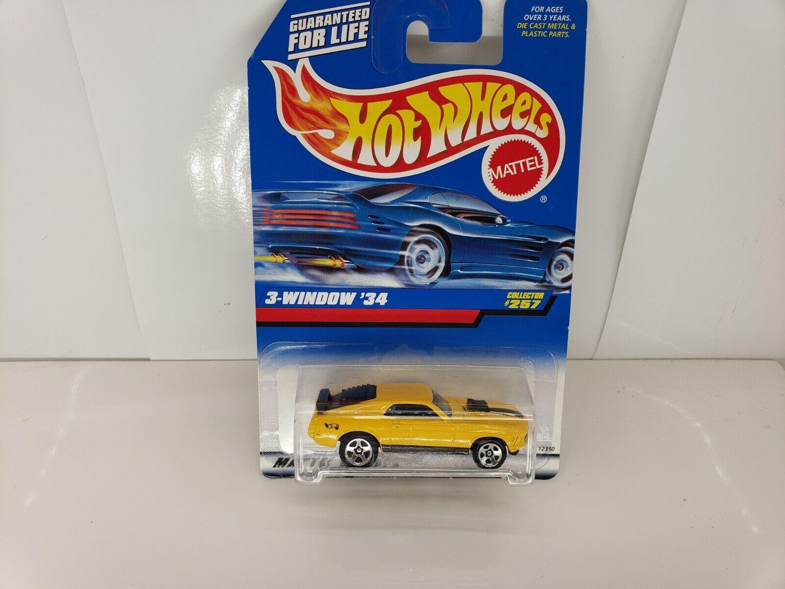 HOTWHEELS 1998  257 3-WINDOW 34 ERROR CAR MUSTANG, KIDSTOYZ®