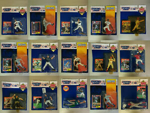 Pick Your Favorite Player! — MLB Starting Lineup (Kenner) — All New, All Sealed!