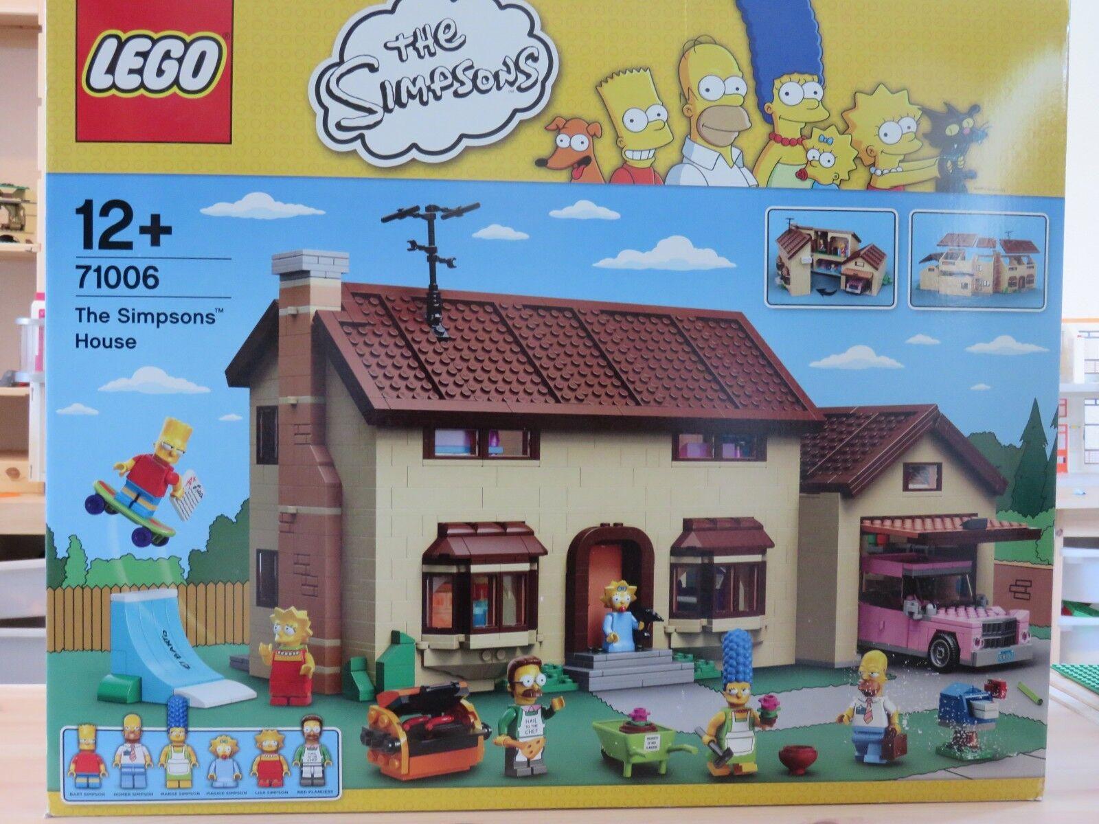LEGO THE SIMPSONS - 71006 - - - LA MAISON DES SIMPSONS ( boite abimée voir photos. ) 7ddce9