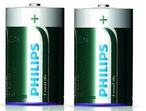 Details about Philips LONGLIFE 2X R20–foilpack Batteries BEST BEFORE  01/2017 SIZE D