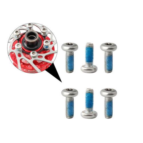 12Pcs Titanium Ti T25 Torx Rotor Wrench Disc Mountain Bike Brakes Bolts Screw