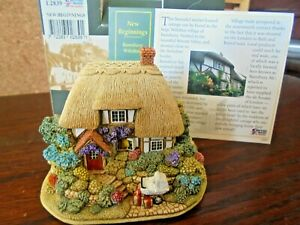 LILLIPUT-LANE-L2839-NEW-BEGINNINGS-RAMSBURY-WILTSHIRE-WITH-BOX-amp-DEEDS