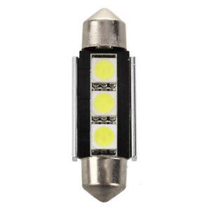 1X-2x-SMD-LED-feston-39-mm-CANBUS-C5W-12V-3-potencia-SMD-Placa-de-W8O1