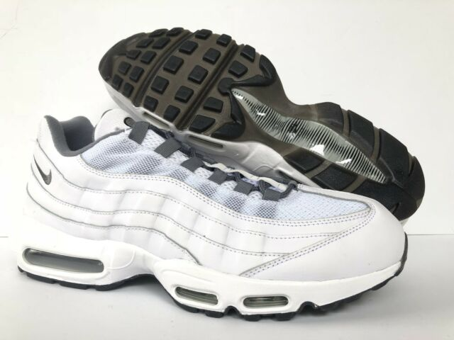 13e736812d4efe Nike ID Air Max 95 US Mens Sz 13 818592 994 All-white for sale ...