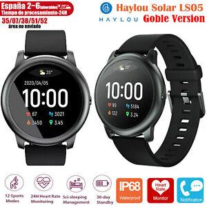 Haylou LS05 Solar Smart Watch Bluetooth Versión Global Reloj Sports Inteligente