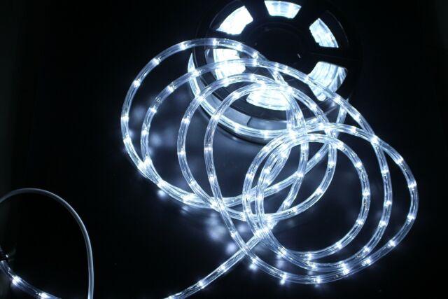 wholesale dealer e2b86 8be53 PYSICAL 110V 2-Wire Waterproof LED Rope Light Kit for Background Lighting,  Dec