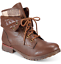 thumbnail 1 - NEW Rock & Candy Women's Spray Paint Bootie Boots Size 7 M Dark Brown $99