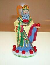 International Santa Claus Collection Ornament ~ Padre Nicholas Brazil 100/% MINT!