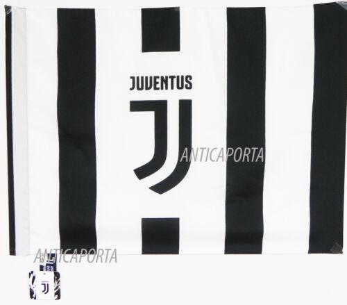 Drapeau Juventus Original Nouveau Logo 2017 Officiel 63 X 46,5 CM Juve