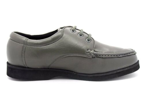 Grigio Casual mano Chaussures neuves 7 Mens Up Uk a lavorata pelle Chums Lace qvHtZx