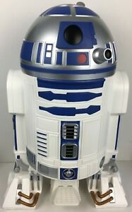 Star-Wars-R2-D2-2013-Huge-23-034-3D-Wastebasket-Heart-Art-Japan-New-Boxed-Very-Rare